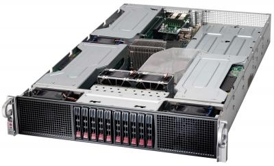 Servidor con capacidad para 6 GPUs Nvidia Tesla