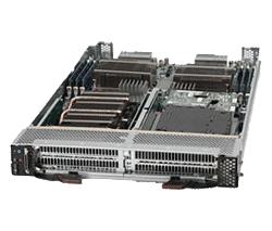 GPU Blade Supermicro con 2 GPU por Hoja