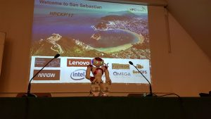 HPCKP HPC Knowledge Meeting San Sebastián Flytech Intel