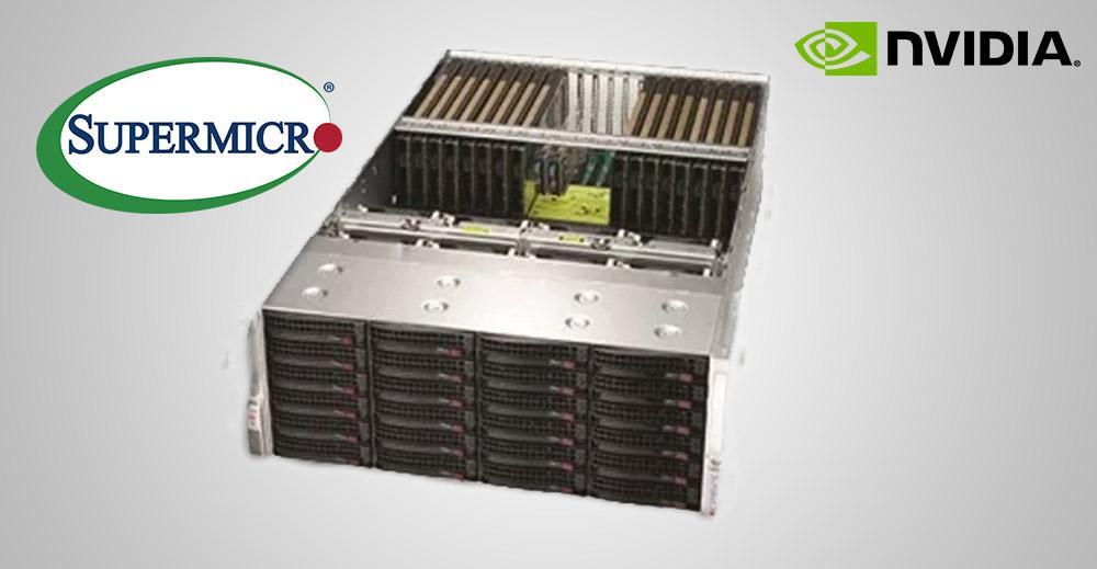 Supermicro lanza un servidor de 20 GPU en 4U para IA