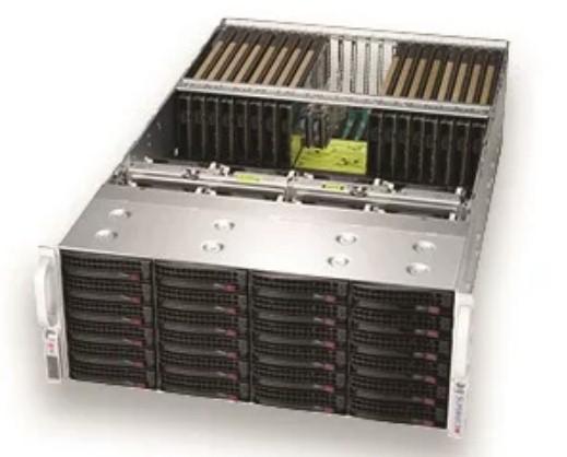 supermicro server servidor gpu nvidia flytech