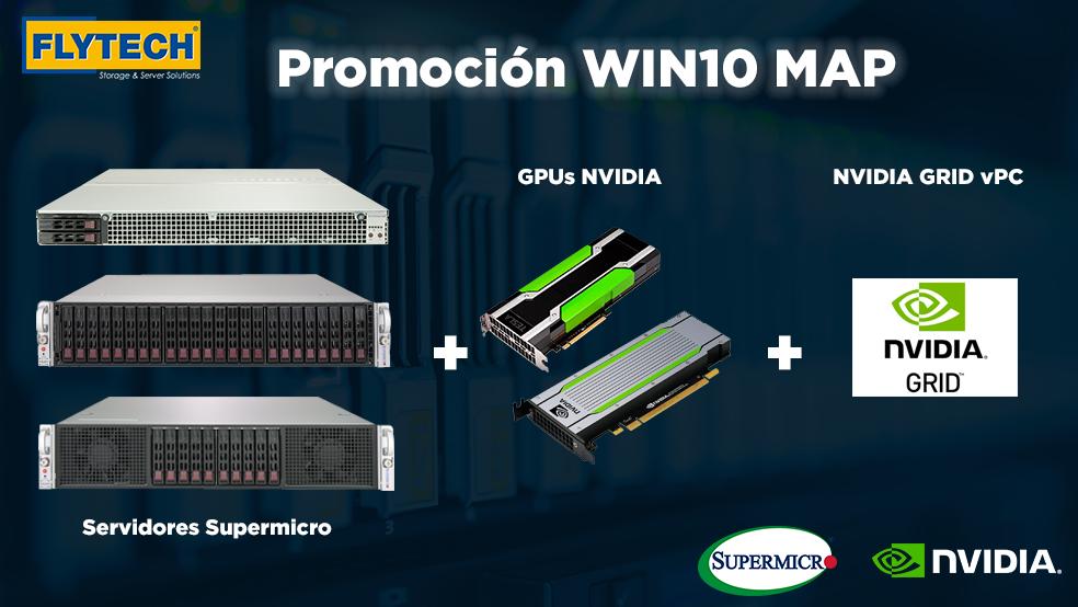 Promoción Supermicro y NVIDIA para entornos VDI Windows10